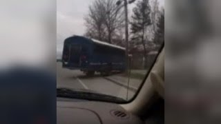 Driver Saves The Day By Stopping Bus After 12-Year-Old Took It On Joyride