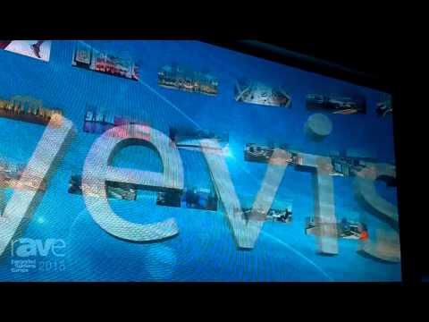 ISE 2015: Eyevis Shows Eye-Led-Module-2.0-FI LED Video Wall
