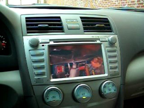 1 toyota camry 2007 2008 2009 2010 2011 navigation gps radio how to save money and do it yourself. Black Bedroom Furniture Sets. Home Design Ideas