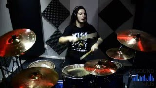 modern day delilah - KISS drum cover by Pretto