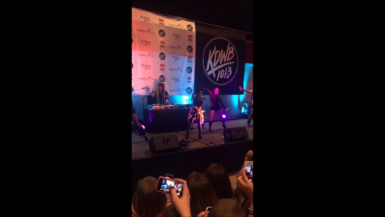 Becky G vid one 101.3 KDWB Jingle Ball Pre-Concert Party 12.08 ...