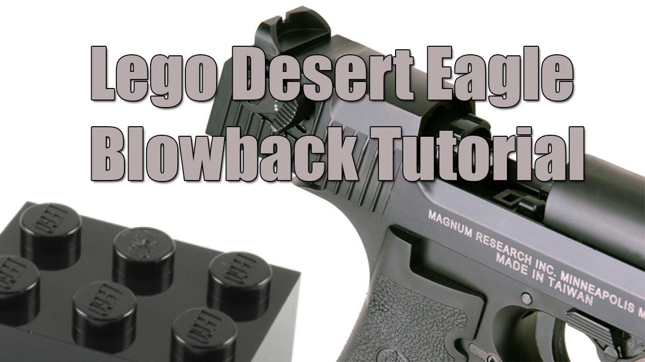 lego desert eagle instructions