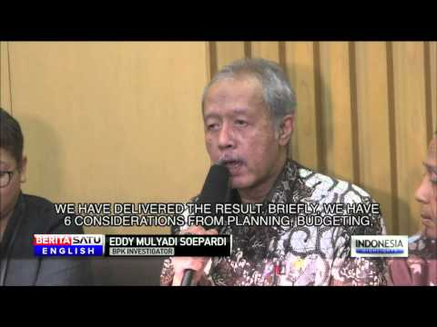 KPK Investigates BPK's Audit on Procurement of Sumber Waras Hospital