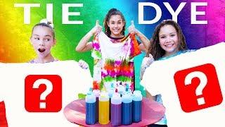 3 Color Tie Dye CHALLENGE!!!!!