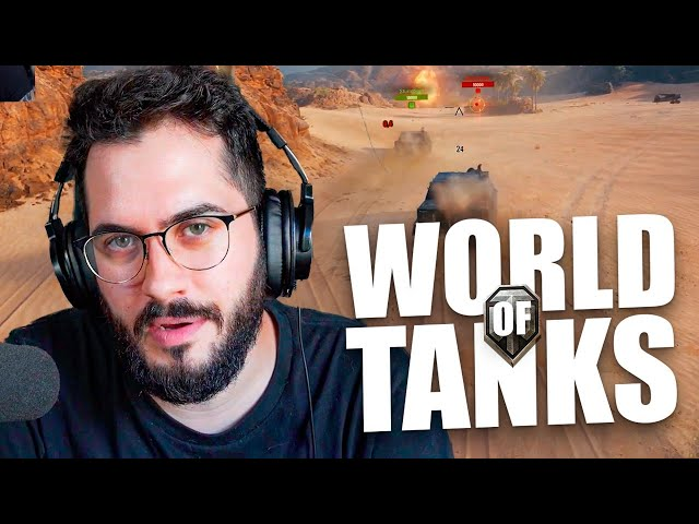 Play this video Un manco y muchos tanques  WORLD OF TANKS