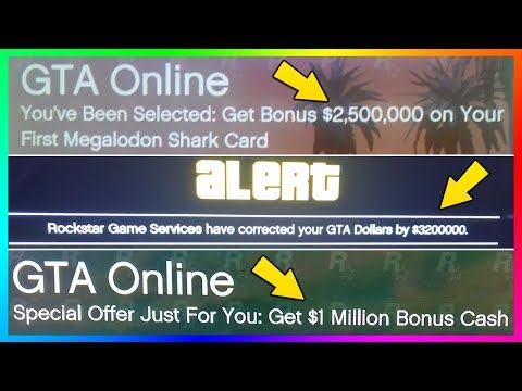 BONUS FREE MONEY IN GTA 5! (GTA ONLINE BONUS FREE MONEY UPDATE)