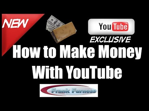 Make money with YouTube | Frank Furness Social Media Speaker
