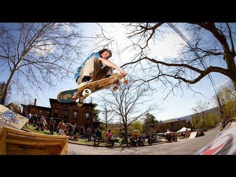 Comet Skateboards // Ithaca Slide Jam 2013