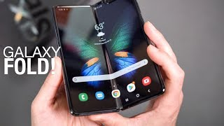 GALAXY FOLD Unboxing and First Look!