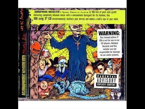 Agoraphobic Nosebleed - The Ninth Day Of Sodom_ Holiday Bowl Full Of Assho