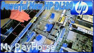 Unboxing, Very Powerful HP DL380p server - 065