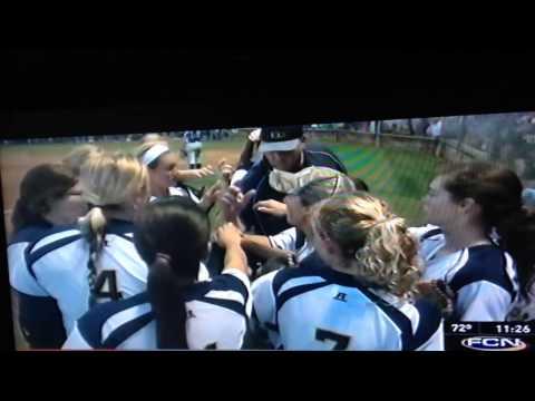 University Christian School - Softball - 04/30/2014