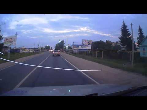 Авария в Нижегородской области 13  08 2014