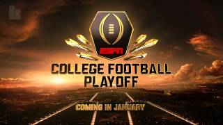 ESPN College Football Intro Theme Music - Playoff Era