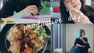 VLOG: A PRODUCTIVE DAY WHEN EXAMS ARE COMING | Một ngày *khác* đi học của du học sinh Anh 🇬🇧