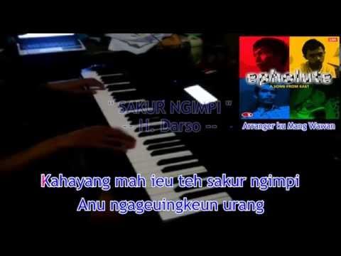 Sakur Ngimpi - H. Darso (Style Keyboard Cover)