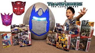 Biggest Transformers Toys The Last Knight Giant Surprise Egg by Hitzhtoys