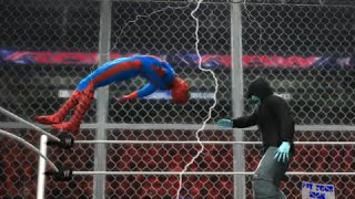 The Amazing Spiderman vs Electro - EPIC BATTLE | WWE 2K14