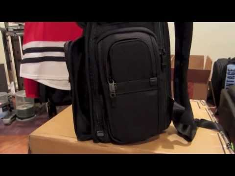 TUMI x Vice Alpha Brief Pack Review