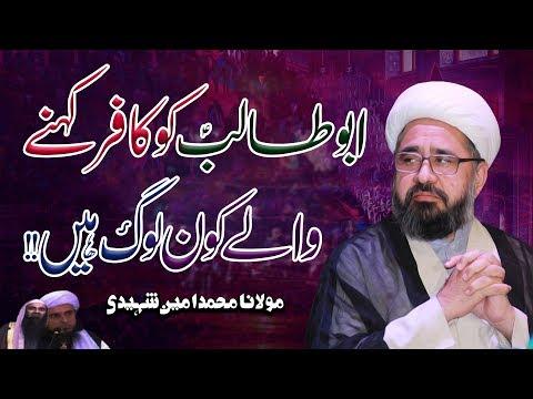 Kon Log Hazrat Abu Talib (a.s) Ko Kafir Kehtay Hain | H.I.W Allama Amin Shaheedi | 4K