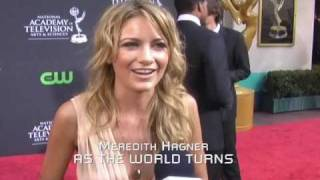 WLS Daytime Emmy Red Carpet: ATWT's Meredith Hagner