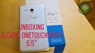 "Alcatel OneTouch POP 3 (5.5"") - Unboxing"