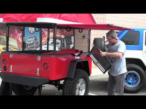 COP 4x4 Ultimate Camping Trailer