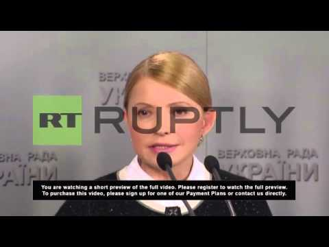Ukraine: Vladimir Putin remains my enemy number one - Tymoshenko