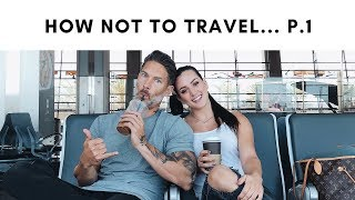 TIPS TO STAY ON TRACK WHILE TRAVELING + travel day from hell! (p.1)