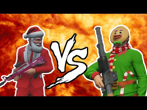 SANTA VS GRINCH! (GTA V Christmas Special)