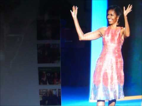 Michelle Obama in Tracy Reese.  HIT or MISS?