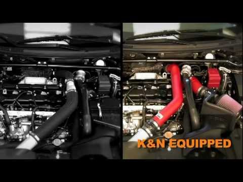 2008 - 2013 Mitsubishi Lancer Evolution 2.0L Turbo K&N Air Intake Installation