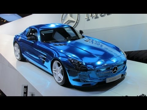 Awesome Cars Of The Paris Motor Show 2012  -- ROAD TESTAMENT