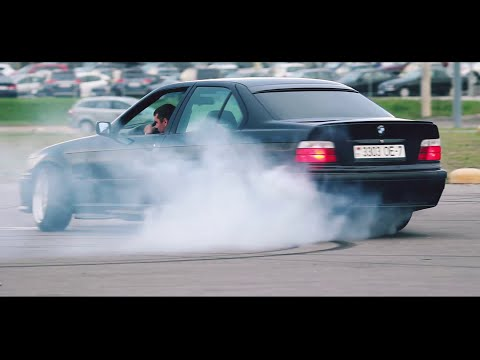 BMW E36 Turbo 400hp — лютая самоделка