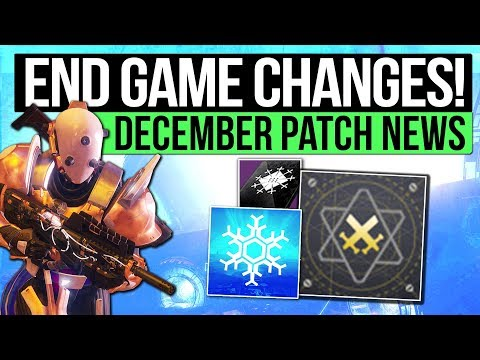 Destiny 2 | HUGE END GAME CHANGES! - Masterwork Weapons, Fated Engrams, Three of Coins, Ranked PvP!