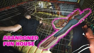 Abandoned Fun House Closed Down Due To Accident!