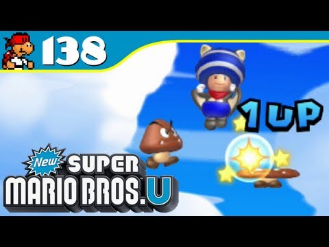 New Super Mario Bros. U - Goomba Bounce Bash - 1-Up Rally - Episode 138 - KoopaKungFu