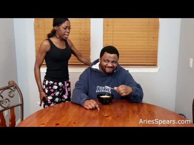 Aries Spears Comes Home Late