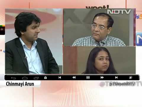 Saket Modi shares the panel with Gulshan Rai on NDTV