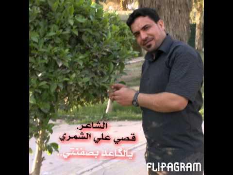 الشاعر قصي علي الشمري يلكاعد بصفنتي