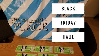 Black Friday Haul - The Children's Place