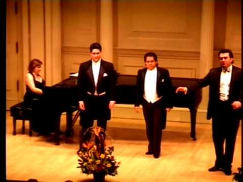 Medley from Lanzas songs - &quot;Three Tenors&quot;. New Yourk www.talents-of-world.com
