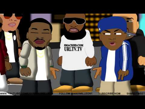 BARS CARTOON #2 - The Rooftop Battle (Cass vs Meek)