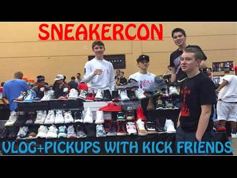 SNEAKERCON CHICAGO 2016 VLOG+PICKUPS WITH KICK FRIENDS