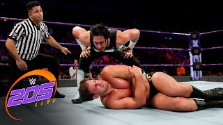 Mustafa Ali vs. Drew Gulak: WWE 205 Live, June 27, 2017