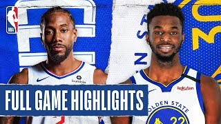 CLIPPERS at WARRIORS | FULL GAME HIGHLIGHTS | March 10, 2020