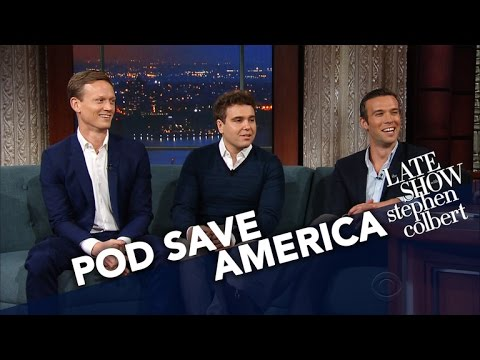 'Pod Save America' Hosts Have Sympathy For Sean Spicer thumbnail