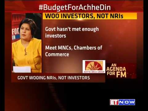 An Agenda For FM – With P Chidambaram #BudgetForAchheDin