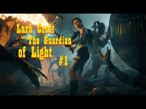 Noobando Com a Mamãe em Lara Croft and the Guardian of the Light - Fase 1