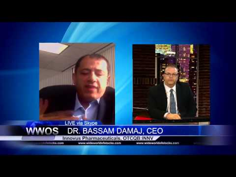 Innovus Pharma CEO, Dr. Bassam Damaj, Featured on Wide World of Stocks Television